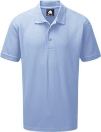 Eagle Polo Shirt from ORN clothing - Sky Blue