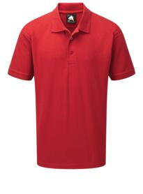 Osprey Deluxe Polo Shirt from ORN clothing - Red