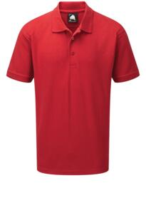 Oriole Polyester Poloshirt from ORN clothing - Red