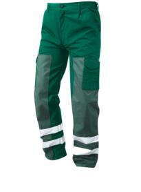ORN Vulture HiVis Ballistic Trouser - Bottle Green