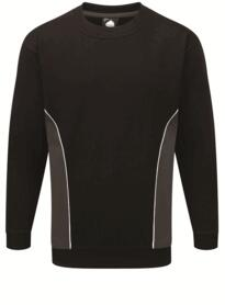 ORN Two Tone Sweatshirt - Black / Graphite