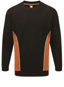 ORN Two Tone Sweatshirt - Black / Orange