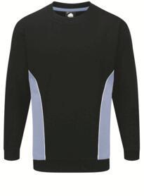 ORN Two Tone Sweatshirt - Navy Blue / Sky Blue