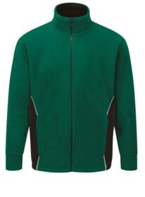 ORN Two Tone Fleece - Bottle Green / Black