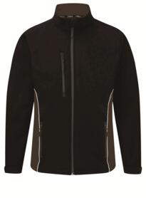 ORN Two Tone Softshell Jacket - Black / Graphite
