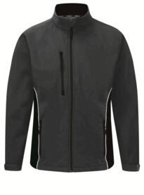 ORN Two Tone Softshell Jacket - Graphite / Black