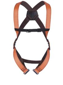 Fall Arrester Harness 1 point from Deltaplus - Orange  / Grey