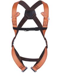 Fall Arrester Harness 2 point from Deltaplus - Orange  / Grey