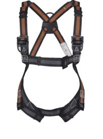 Fall Arrester Harness - 3 Points Riplight - Orange  / Grey
