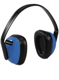 Spa 3 Ear Defenders from Deltaplus - Blue / Black