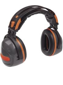 Yas Marina Ear Defenders from Deltaplus - Grey / Orange