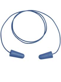 Conic Detectable Disposable Earplugs SNR 37 10 pairs - Blue