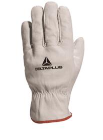 FBN49 Cowhide leather grain glove (pack of 12 pairs) - Natural