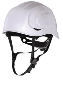 Granite Peak Mountain style safety helmet from DeltaPlus - White