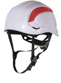Granite Wind Mountain style ventilated safety helmet - White