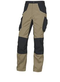 Mach Spirit Trousers from Delta Plus - Beige-Black