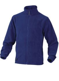 Vernon Fleece Jacket from DeltaPlus - Royal Blue
