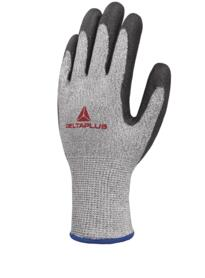 DeltaPlus 44G3 Knitted Econocut Glove Cut 4 (Bag of 3 pairs) - Grey / Black
