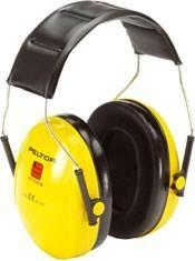 Peltor Optime I Ear Defender - Black / Yellow