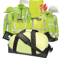 Hivis Kit Bag - Yellow
