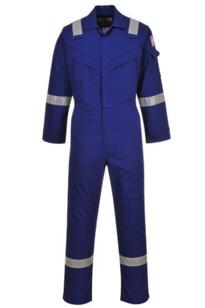 Flame Resistant Anti-Static Coverall - Royal Blue