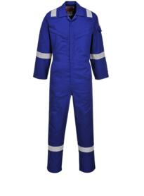 Araflame Silver Flame Resistant Coverall from Portwest - Royal Blue