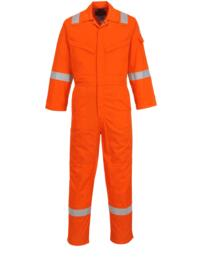 Insect Repellent Flame Resistant Coverall - Orange