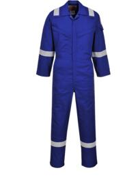 Flame Resistant Super Light Weight Anti-Static Coverall - Royal Blue