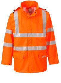 Sealtex Flame HiVis Jacket - Orange