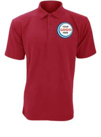 Discounted Polo Shirt - Burgundy