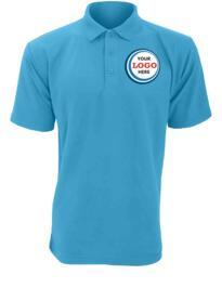 Discounted Polo Shirt - Sky Blue