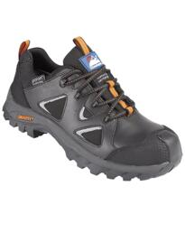 Black Gravity 4120 Waterproof Hiker Shoe - Black