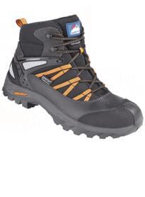Himalayan 4122 Waterproof Safety Boot - Black