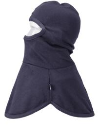 Flame Resistant Anti-Static Balaclava Hood - Navy Blue