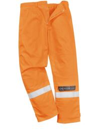 Bizflame Plus Flame Resistant Trousers - Orange