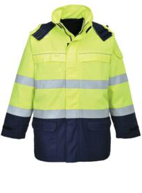 Bizflame Multi Arc Hi-Vis Jacket - Navy Blue
