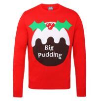 Big pudding Christmas jumper - Red