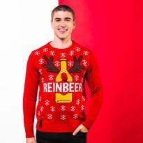 Reinbeer Christmas jumper - Red