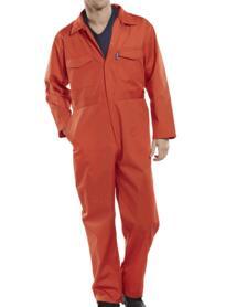 Click Economy Boilersuit - Overalls - Orange