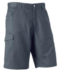 Russell Polycotton Twill Shorts - Convoy Grey