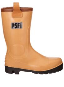 PSF DRI FORCE Fur Lined Waterproof Rigger Boots - Tan