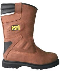 PSF 847SM Fur Lined Rigger Boot - Black