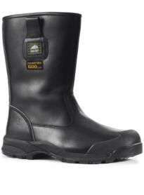 Manitoba extreme cold Safety Boot from Rockfall - Black