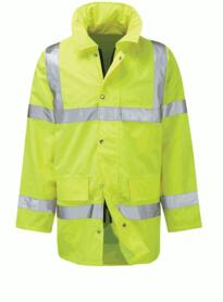 Geraint Hivis 3/4 Jacket from Black Knight - Yellow