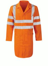 Hivis GO/RT Long Coat - Orange
