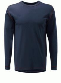 Eddison Hydra-Flame base layer shirt - Navy Blue