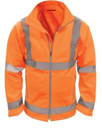 Marquis Hivis GO/RT Soft Shell Jacket - Orange