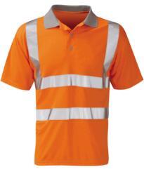 Mercury Hivis GO/RT Polo Shirt - Orange