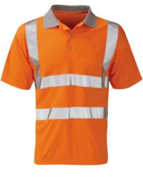 Mercury Hivis GO/RT Polo Shirt - Orange