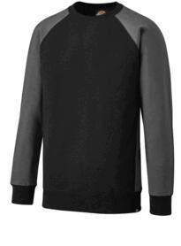 Dickies Two Tone Sweatshirt - Black / Grey
